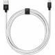 USBEPOWER FAB 250cm USB kabel met Apple lightning connector - zilver