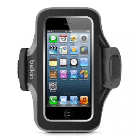 Belkin armband slim fit - noir - voor Apple iPhone 5