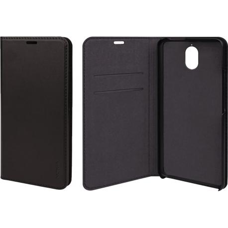 separation shoes df8e9 0bd1b Nokia Slim Flip Case - black - for Nokia 3.1