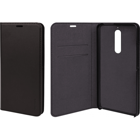 best website 88cb9 3d974 Nokia Slim Flip Case - black - for Nokia 5.1