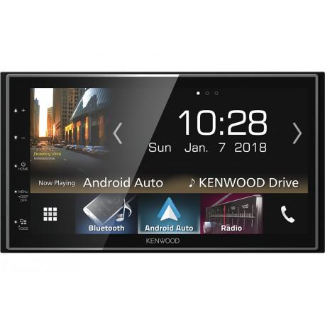 Kenwood Electronics DMX7018DABS Bluetooth Noir récepteur multimédia de voiture