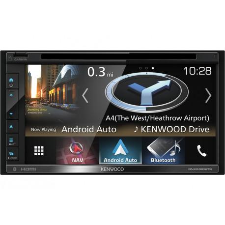 Kenwood Electronics DNX5180BTS 200W Bluetooth Noir récepteur multimédia de voiture