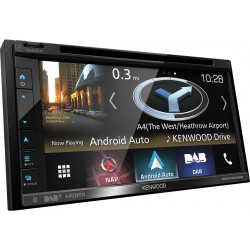 Kenwood Electronics DNX5180DABS 200W Bluetooth Black car media receiver