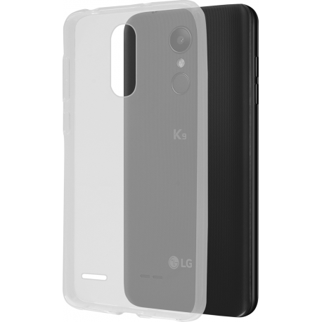 low priced dcea7 b2aae Azuri cover glossy TPU - transparent - for LG K9