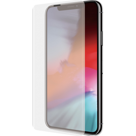 Azuri Curved Tempered Glass Rinox Armor Transparent For Iphone X