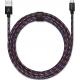 USBEPOWER FAB 250cm USB kabel met micro USB connector - graffiti