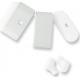 Azuri true wireless twin BT oortelefoon mini 2 glossy - wit