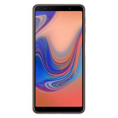 """Samsung Galaxy A7 (2018) SM-A750F 15,2 cm (6"""") 4 Go 64 Go Double SIM 4G Or 3300 mAh"""