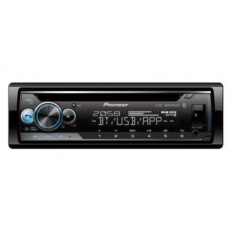 Pioneer DEH-S510BT car media receiver Black 200 W Bluetooth