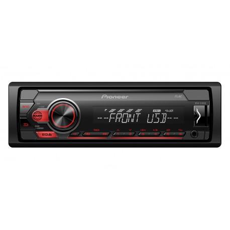Pioneer MVH-S110UB récepteur multimédia de voiture Noir, Rouge 200 W