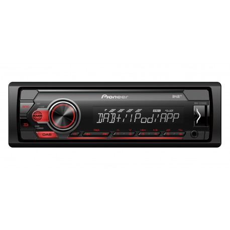 Pioneer MVH-S210DABAN car media receiver Black 200 W
