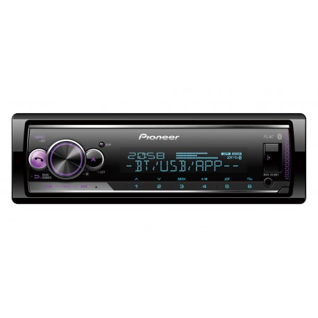 Pioneer MVH-S510BT récepteur multimédia de voiture Noir 200 W Bluetooth