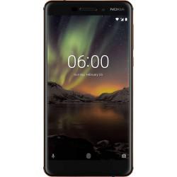 """Nokia 6.1 14 cm (5.5"""") 4G Black, Copper 3000 mAh"""