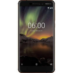 """Nokia 6.1 14 cm (5.5"""") 4G Noir, Cuivre 3000 mAh"""