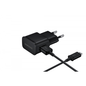 samsung adaptateur de voyage universel micro usb noir. Black Bedroom Furniture Sets. Home Design Ideas
