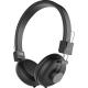 Muvit N1W Sans-fil Headhone Micro Stereo - Universel - Noir