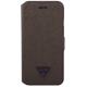 Guess housse booklet - brun - pour Apple iPhone 6/6S