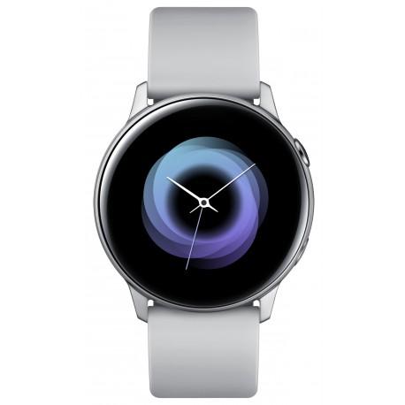 """Samsung Galaxy Watch Active montre intelligente Argent SAMOLED 2,79 cm (1.1"""") GPS (satellite)"""