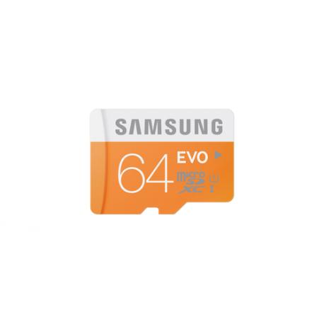 Samsung Evo 64 GB micro SD class 10 met adapter
