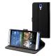 Muvit housse booklet - noir - pour HTC desire 620
