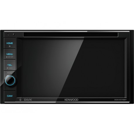 Kenwood DDX4019BT car media receiver Black 50 W Bluetooth