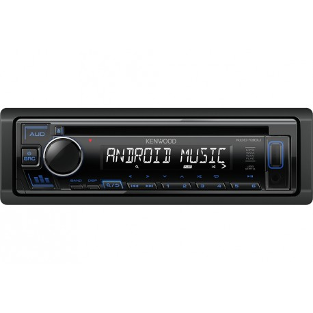 Kenwood KDC-130UB car media receiver Black 88 W