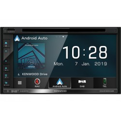 "Kenwood DNX5190DSE3 navigator 17.1 cm (6.75"") Touchscreen TFT Fixed Black 2.1 kg"
