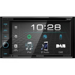 Kenwood DDX4019D-E3 car media receiver Black 88 W Bluetooth