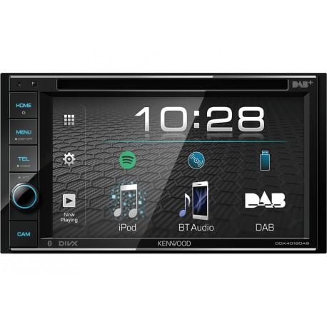 Kenwood DDX4019D-E3 car media receiver Black 88 W Bluetooth
