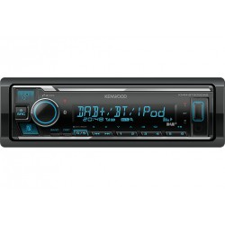 Kenwood Electronics KMM-BT505DAB car media receiver Black 22 W Bluetooth