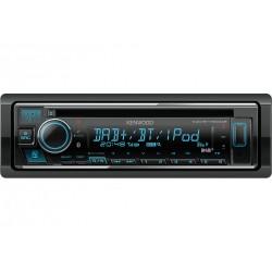 Kenwood KDC-BT730DAB autoradio Zwart 88 W Bluetooth