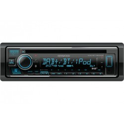 Kenwood KDC-BT730DAB récepteur multimédia de voiture Noir 88 W Bluetooth
