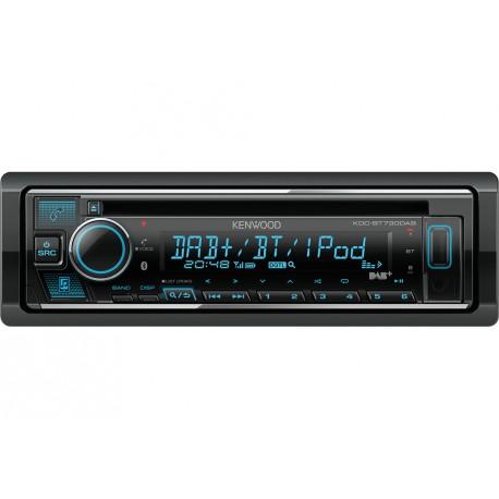 Kenwood KDC-BT730DAB car media receiver Black 88 W Bluetooth