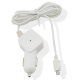 Muvit carcharger Micro-USB connector - white - 1 Amp - 1.2m