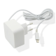 Muvit home charger Apple lightning connector - white - 2.4 Amp - 1.2m