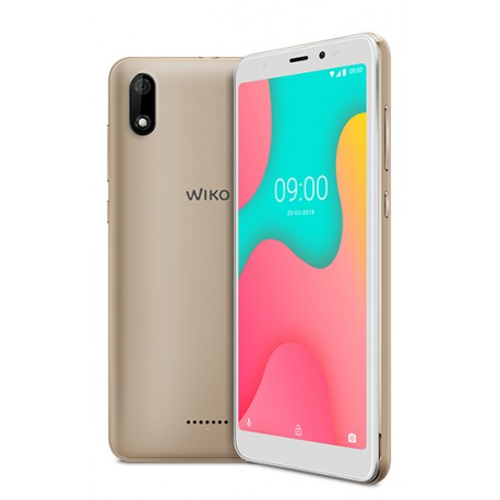 "Wiko Y60 13.8 cm (5.45"") 1 GB 16 GB Dual SIM Gold 2500 mAh"