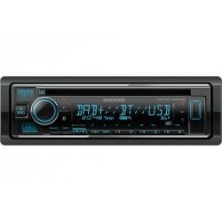 Kenwood KDC-BT740DAB autoradio Zwart 50 W Bluetooth