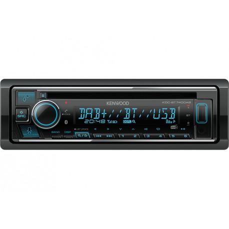 Kenwood KDC-BT740DAB car media receiver Black 50 W Bluetooth