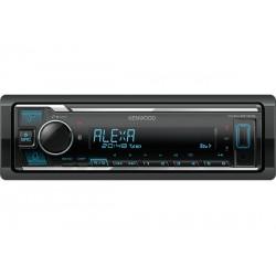 Kenwood KMM-BT306 autoradio Zwart 200 W Bluetooth