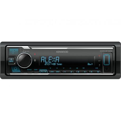 Kenwood KMM-BT306 car media receiver Black 200 W Bluetooth