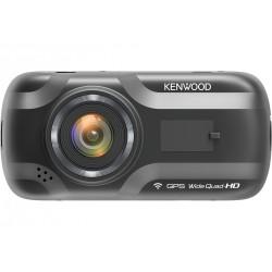 Kenwood DRV-A501W Caméra de tableau de bord Wide Quad HD Noir Wifi