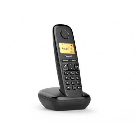 Gigaset A270 Analog/DECT telephone Caller ID Black