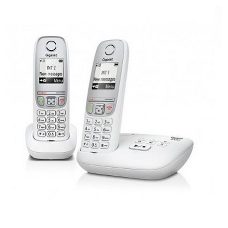 Gigaset A415A Duo DECT telephone Caller ID White