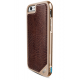 X-Doria Defense Lux cover - brun croco - pour iPhone 6/6S