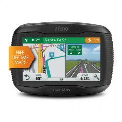 "Garmin zūmo 395LM Fixed 4.3"" TFT Touchscreen Black"