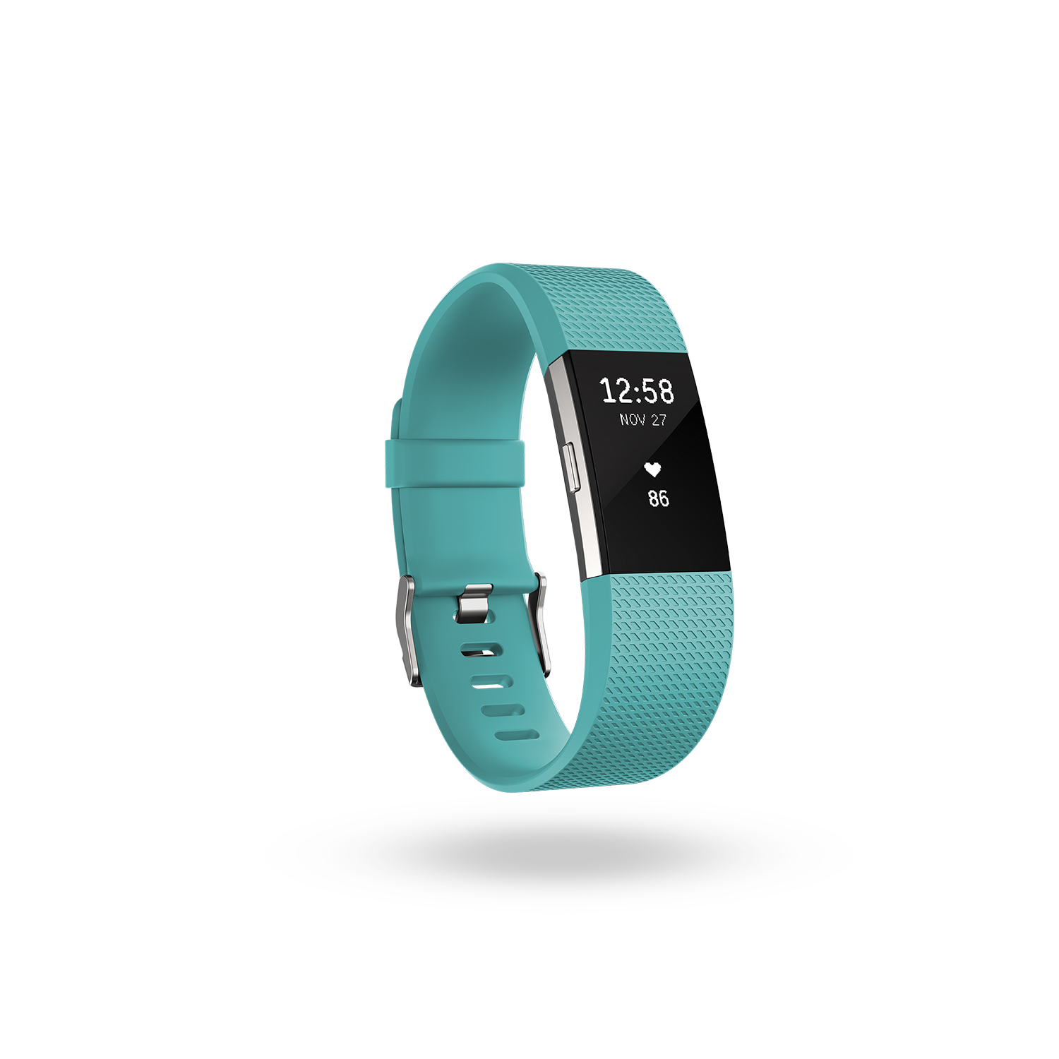 Fitbit Charge HR 2 activity tracker - teal - large
