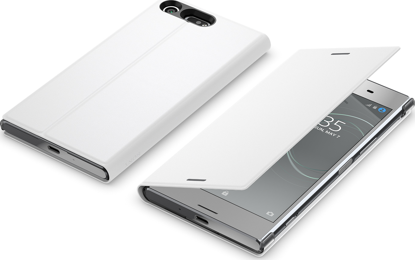best loved 84036 fc6e0 Sony flip cover style - white - for Sony Xperia XZ Premium