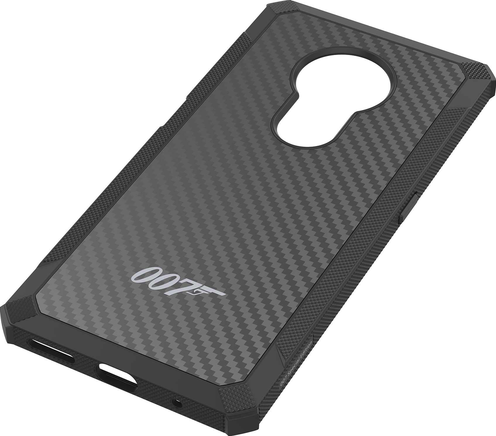 Nokia Kevlar Case Black For Nokia 6 2 7 2 James Bond 007